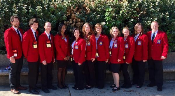 TCAT Hohenwald Skills USA Team 2016