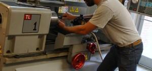 Machine Tool Technology Student